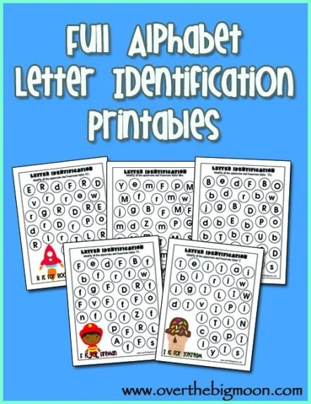ABC Do A Dot Worksheet Printables