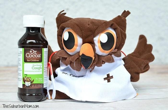 Chocolate Cough Medicine Dr Cocoa Owl