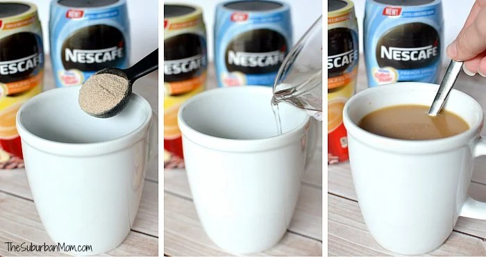 Nescafe with Coffee Mate