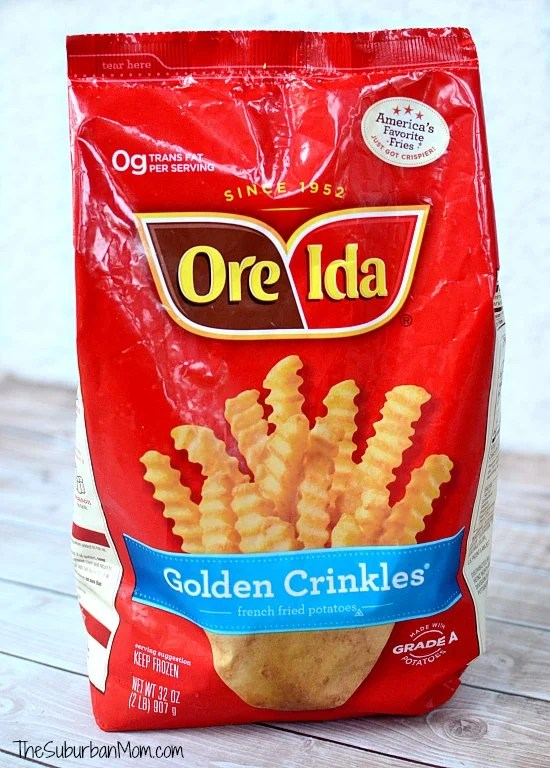 Ore Ida Golden Crinkles French Fries
