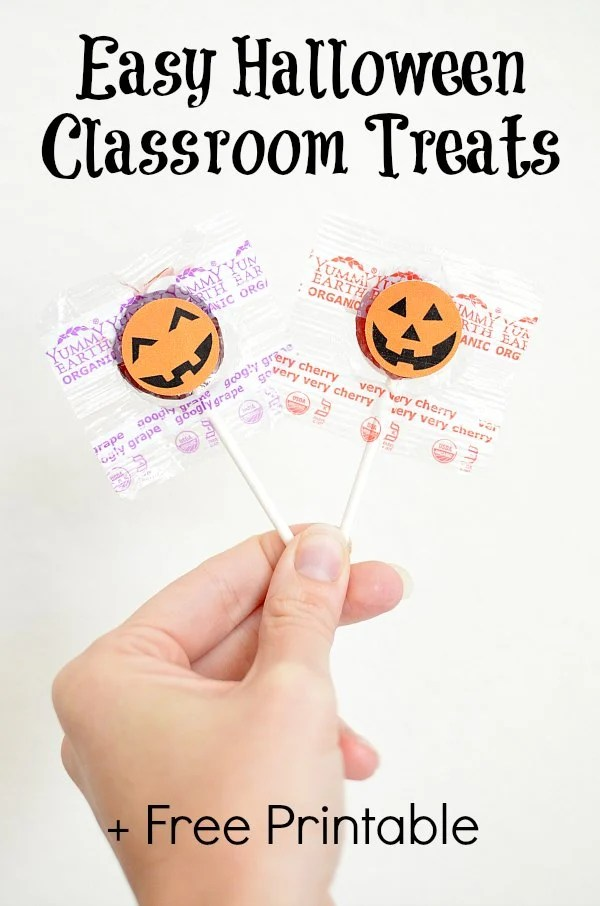 Easy Halloween Classroom Treats