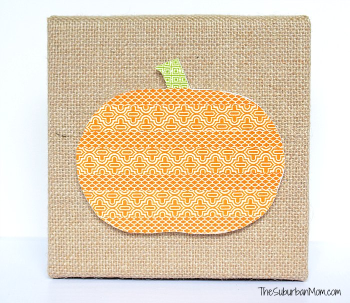 Fall Pumpkin Washi Tape Craft