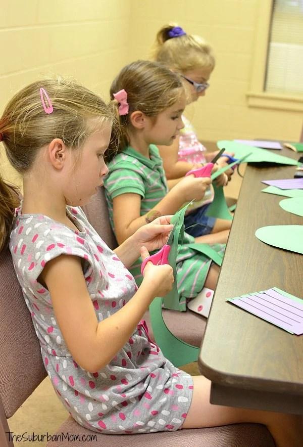Girl Scout Halloween Craft