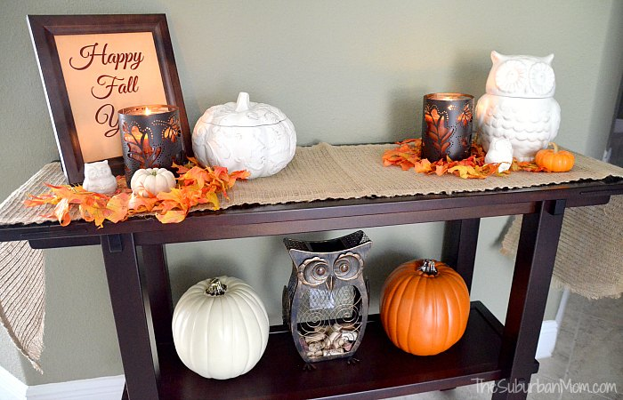 Owl Pumpkin Fall Decorating Ideas