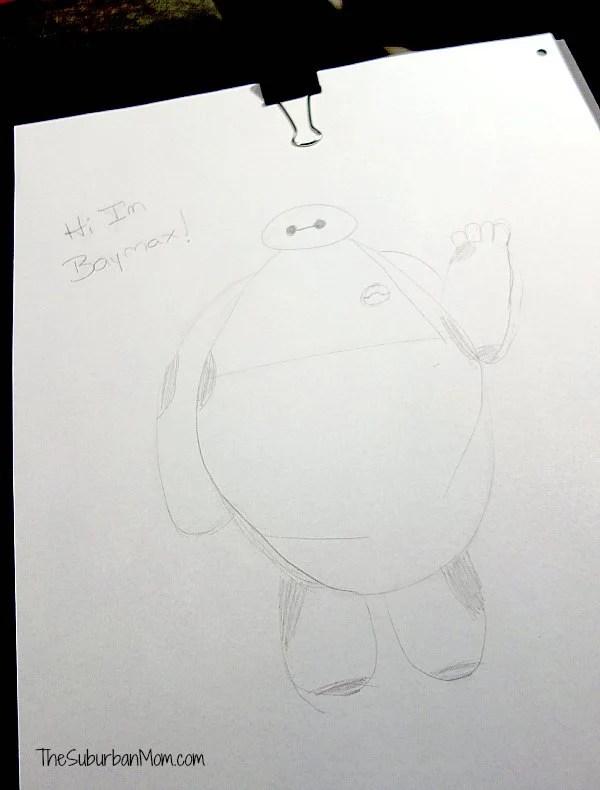 Baymax Drawing