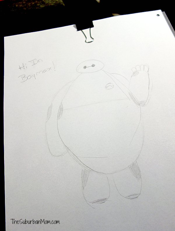 Baymax Drawing