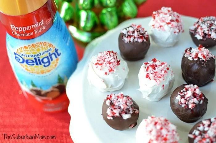 Peppermint Chocolate Truffles International Delight