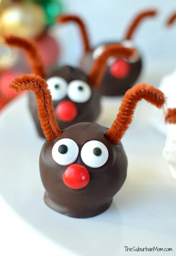 Rudolph Oreo Cookie Balls