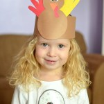Thanksgiving Kids Craft Turkey Crown