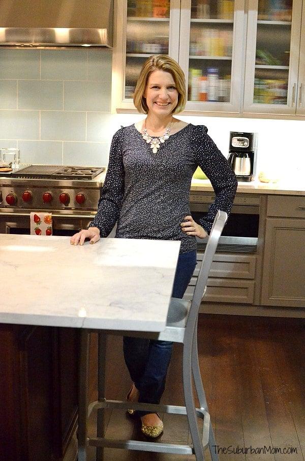 The Suburban Mom black-ish set kitchen