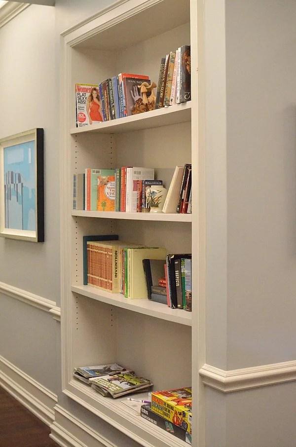 black-ish set bookcase