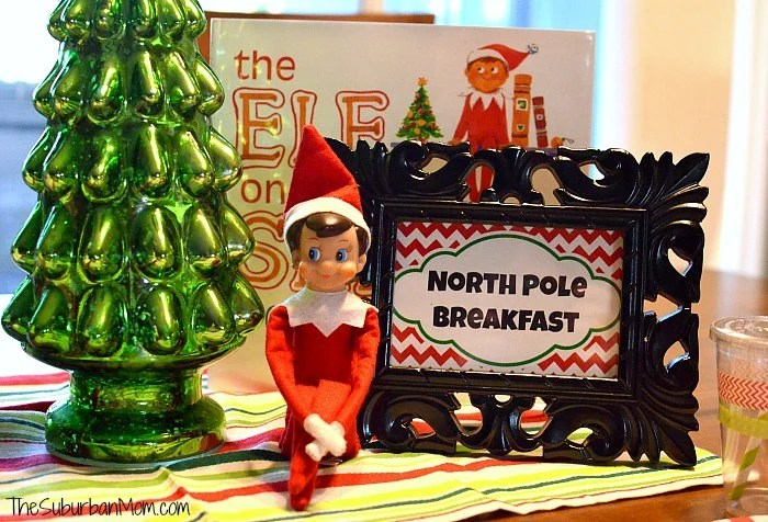 Elf on the Shelf Breakfast