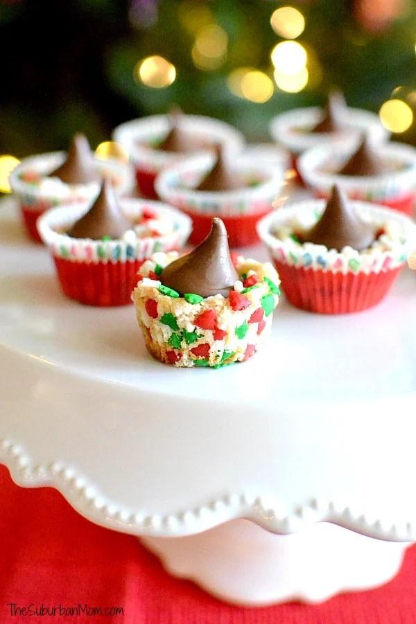 Festive Mini Sugar Cookie Cups