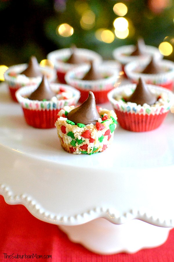Festive Mini Sugar Cookie Cups