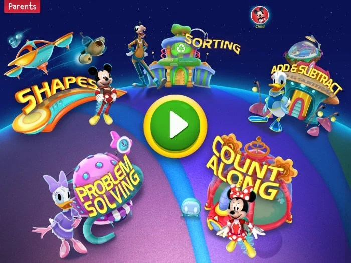 Imagicademy Mickey's Magical Math World