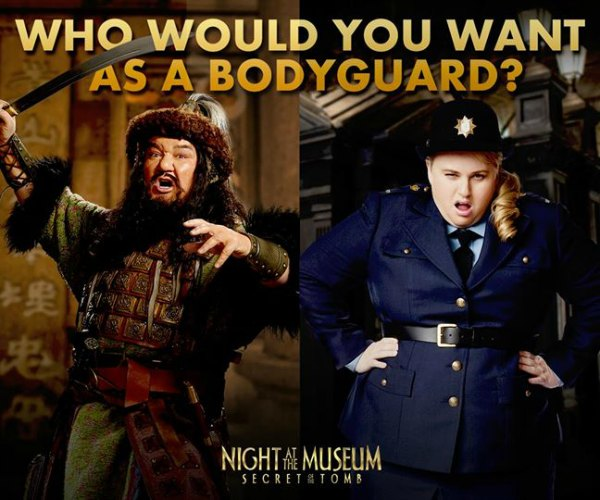 Night at the Museum Rebel Wilson