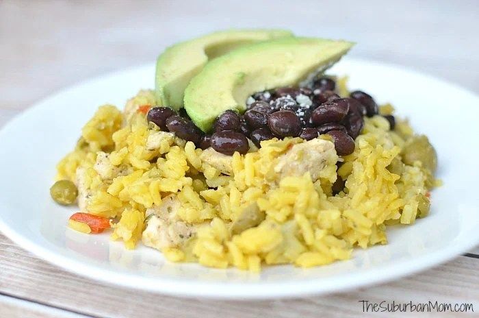Yellow Rice and Chicken Recipe