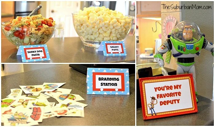 Toy Story Snacks