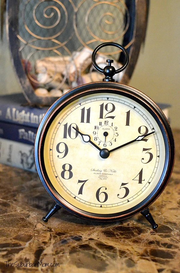 BHG Pocket Watch Clock