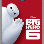 Big Hero 6 Blu-Ray DVD