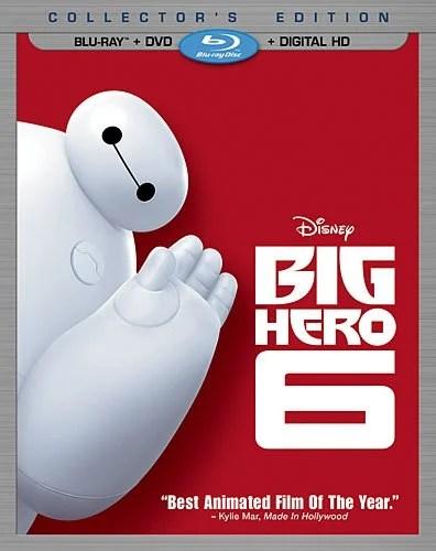 Big Hero 6 Blu Ray DVD