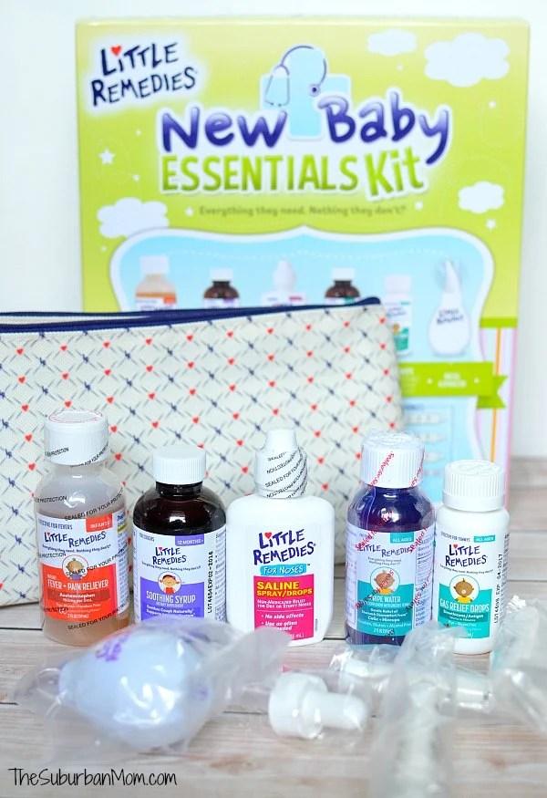 Little Remedies New Baby Essentials Kit