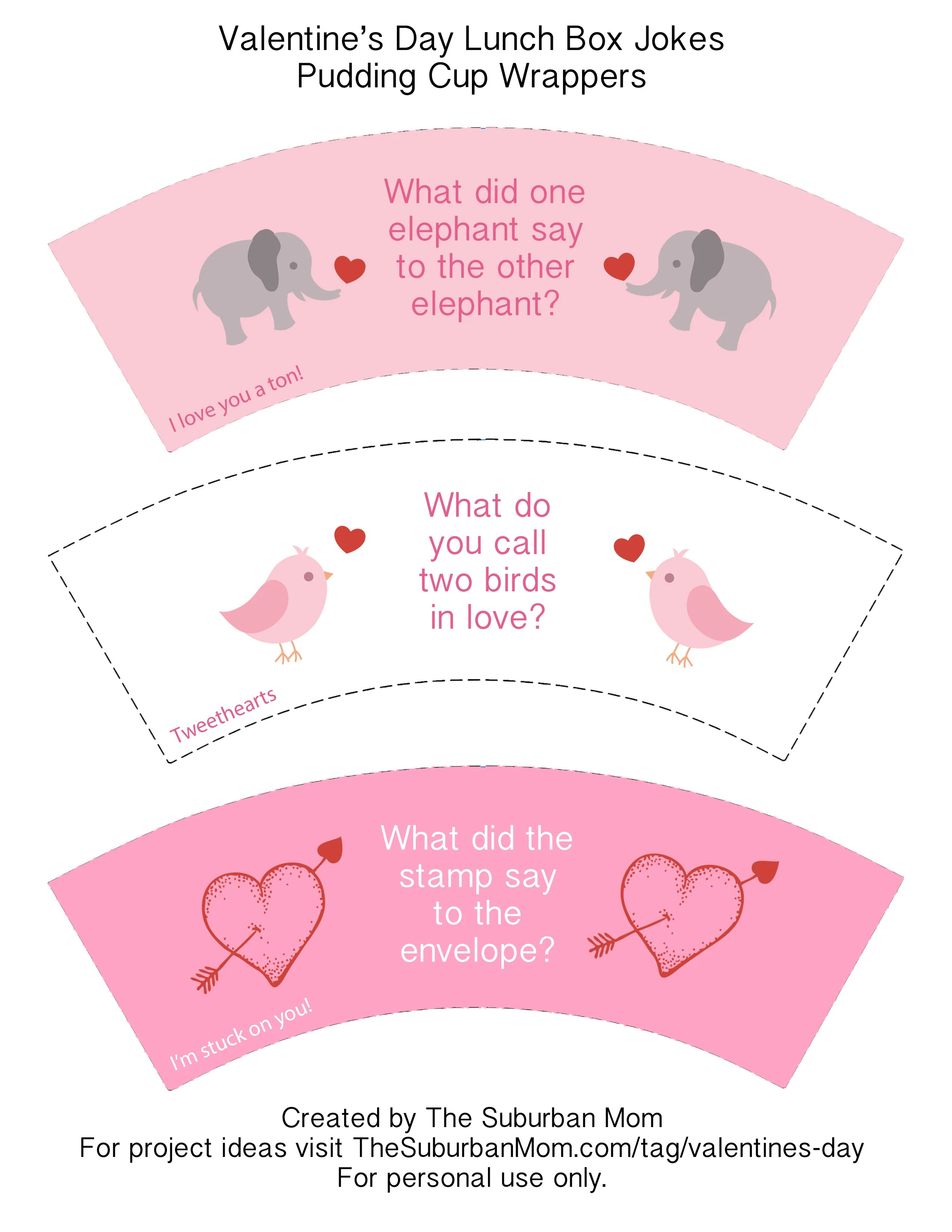 Valentine S Day Lunch Box Jokes