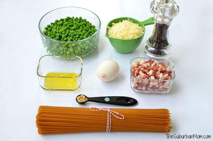 Spaghetti Carbonara Recipe Ingredients