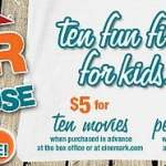Cinemark $1 Summer Movie Schedule 2015
