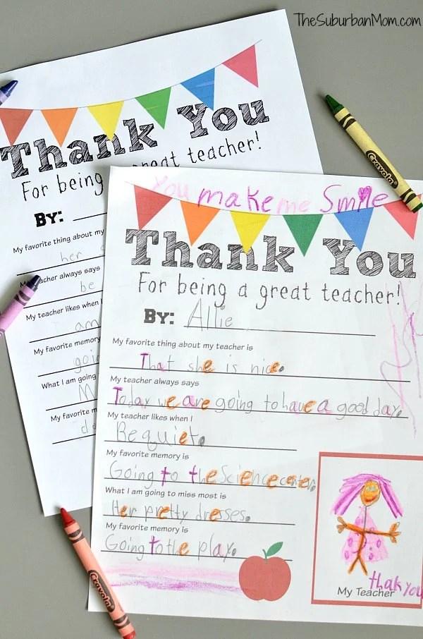 image regarding Teacher Thank You Printable identify Thank Oneself Instructor Cost-free Printable