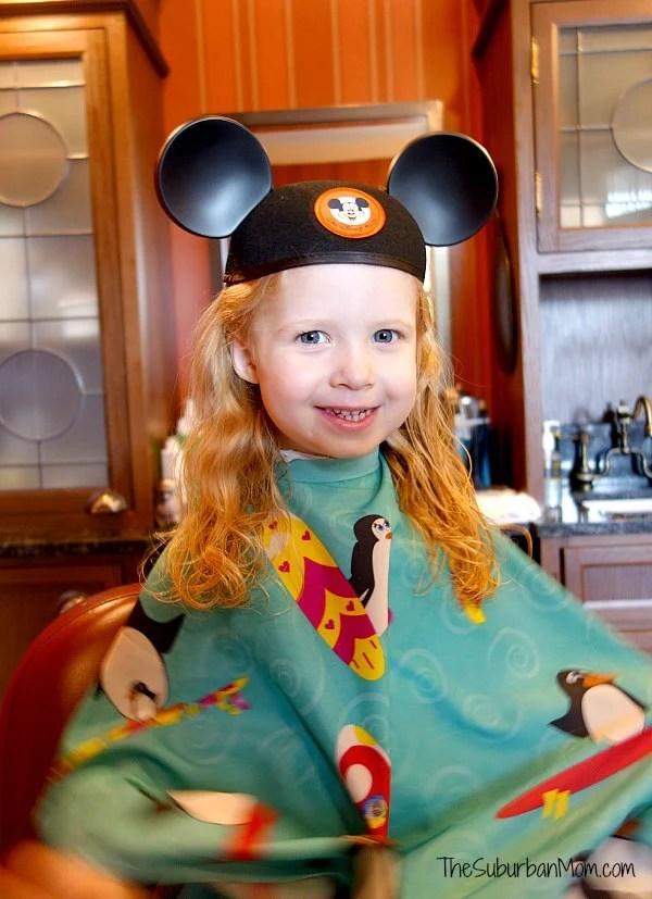 Disney First Hair Cut Harmony Barber