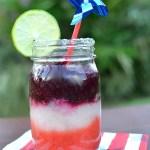 Skinny Red, White And Blue Margarita