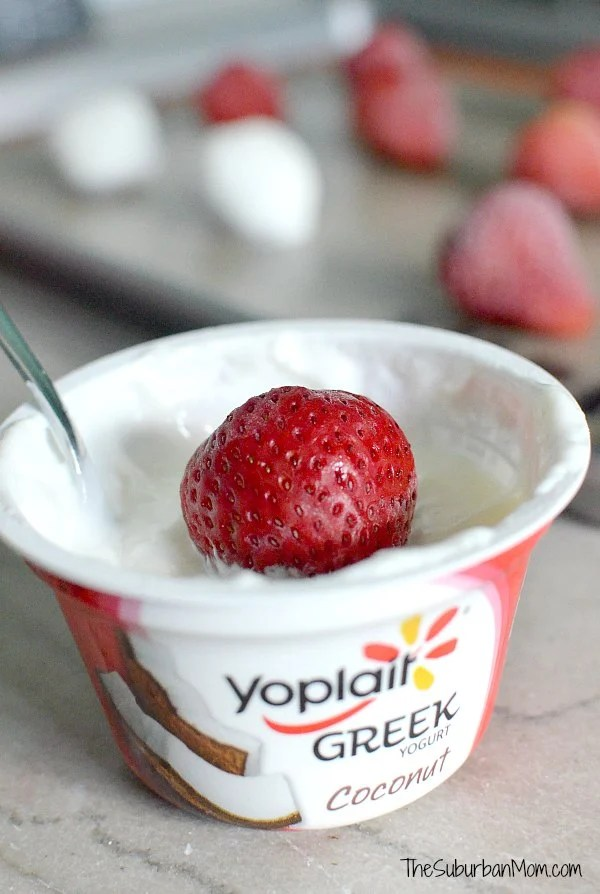 Yoplait Yogurt Covered Strawberries