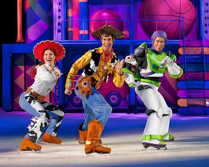 Jessie, Woody and Buzz Lightyear