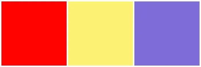 Disney Color Pallet