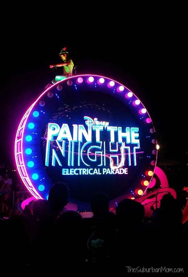 Disneyland Paint the Night