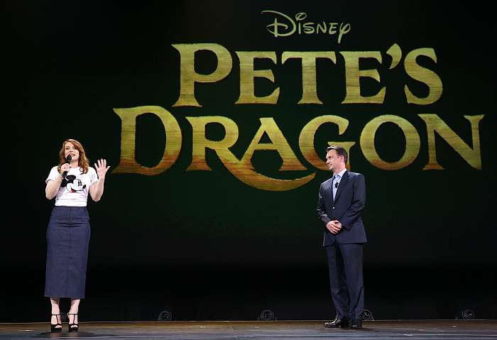 Pete's Dragon Bryce Dallas Howard D23 Expo