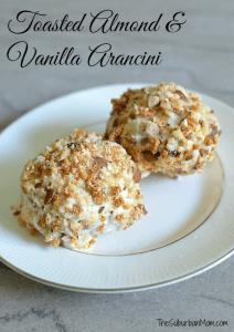Toasted Almond & Vanilla Arancini