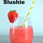 Strawberry White Wine Slushie