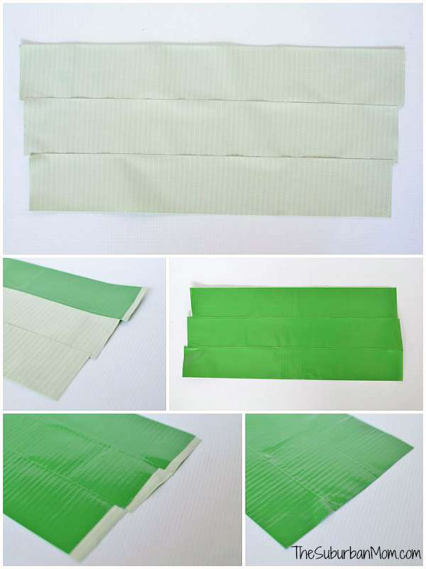 image relating to Duct Tape Wallet Instructions Printable referred to as How Towards Generate A Duct Tape Wallet