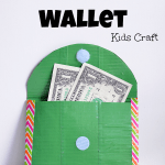 Duct Tape Wallet Kids Craft