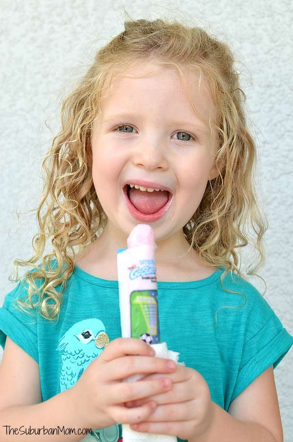 Frozen Go-Gurt Treat