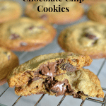 Pumpkin Nutella Chocolate Chip Cookies