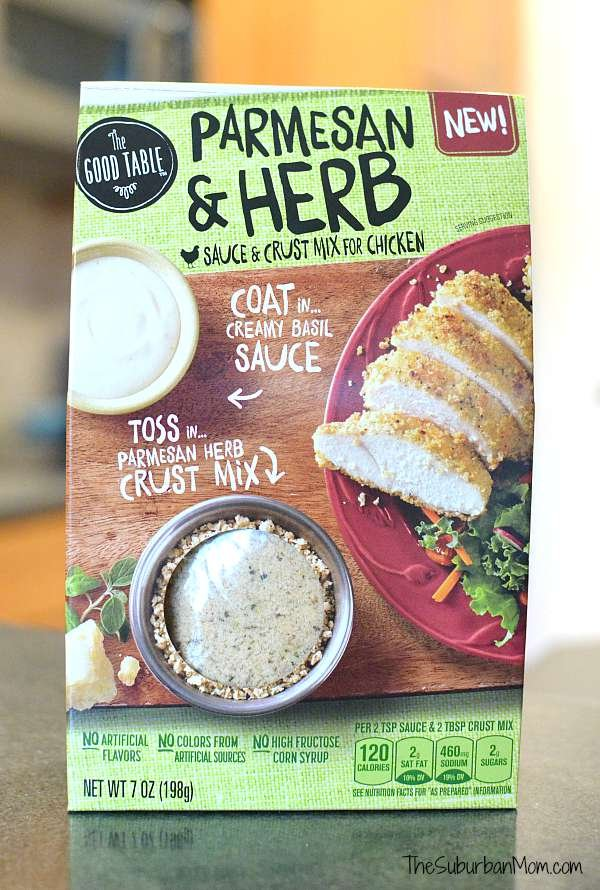 The Good Table Parmesan Herb