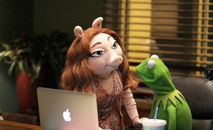 The Muppets Kermit Denise