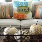 Create A Cozy Fall Space With Pillows From BHG