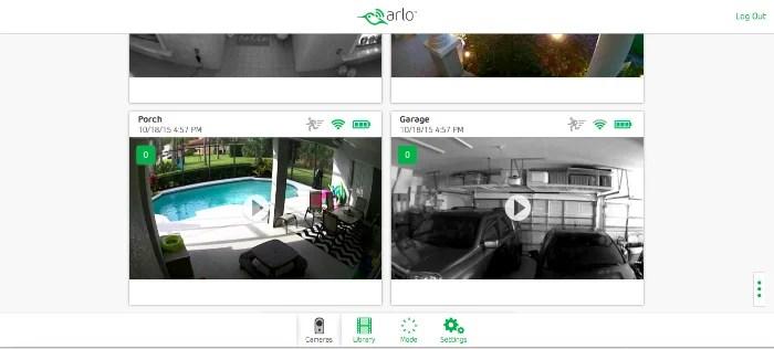 NETGEAR Arlo Browser Viewer