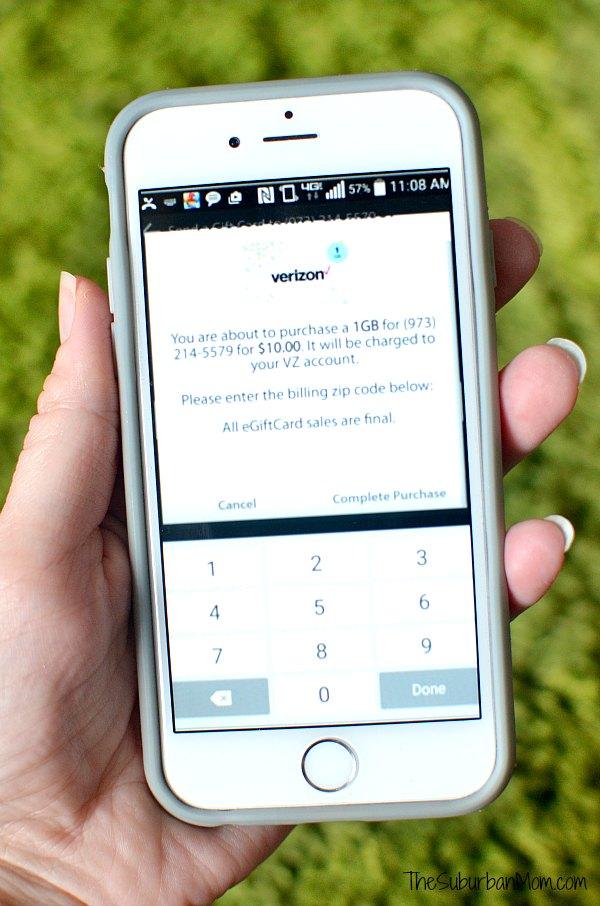 Buy Verizon Wireless Gift Card