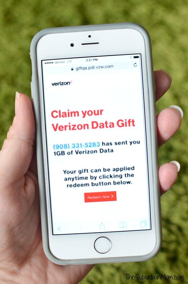 Share Verizon Wireless Mobile Gift Card