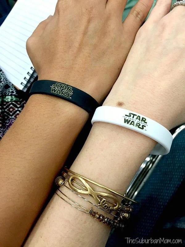 Star Wars Dark Side Light Side Bracelets